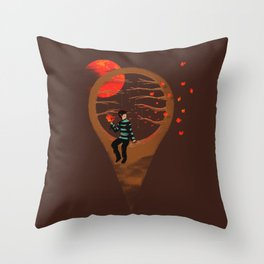 Here Am I Throw Pillow