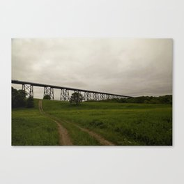 Trestle Canvas Print