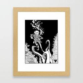 Death From Below Framed Art Print