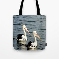 twins Tote Bags featuring Twins by Chris' Landscape Images & Designs