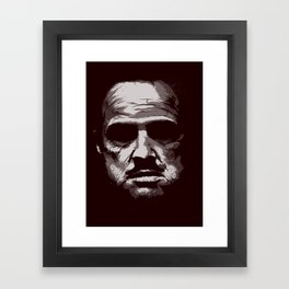 Marlon Framed Art Print