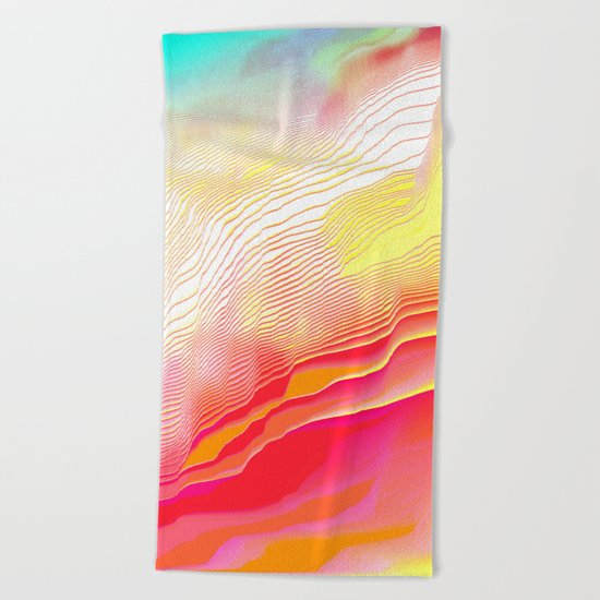 Pool Hallucination Beach Towel