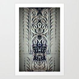 Sorcha (Vintage) Art Print