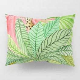 Leaves, Jungle, Snake Pillow Sham