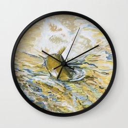 June's Digger Wall Clock