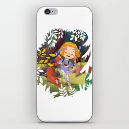 Magic of the forest iPhone Skin