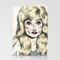 dolly parton Stationery Cards featuring Dolly by Sarah McNeil