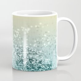 Lemon Twist Beach Glitter #2 #shiny #decor #art #society6 Coffee Mug