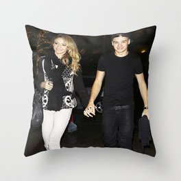 One Direction Liam Payne Danielle Peazer Payzer Throw Pillow