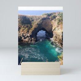 Mendocino - Sea Arch Mini Art Print