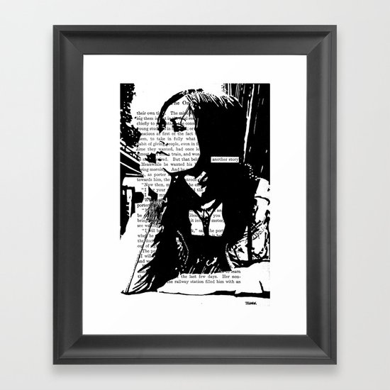 Another Story Framed Art Print