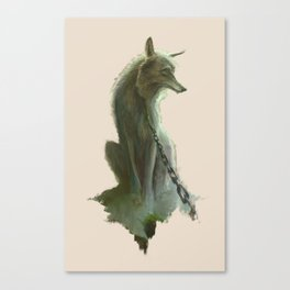 Fenrir Canvas Print