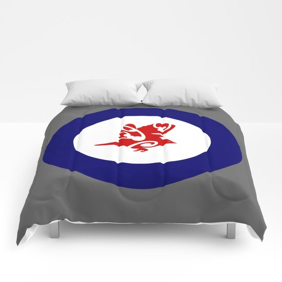 Silvereye Air Force Roundel Comforters