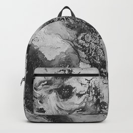 White: Paint Backpack