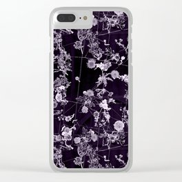 The moon is liquid and I'm invisible Clear iPhone Case