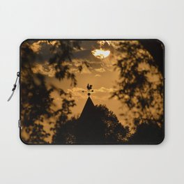 Steeple in The Evening Sun Laptop Sleeve