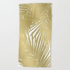Palms Gold Beach Towel