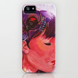 black widow iPhone Case