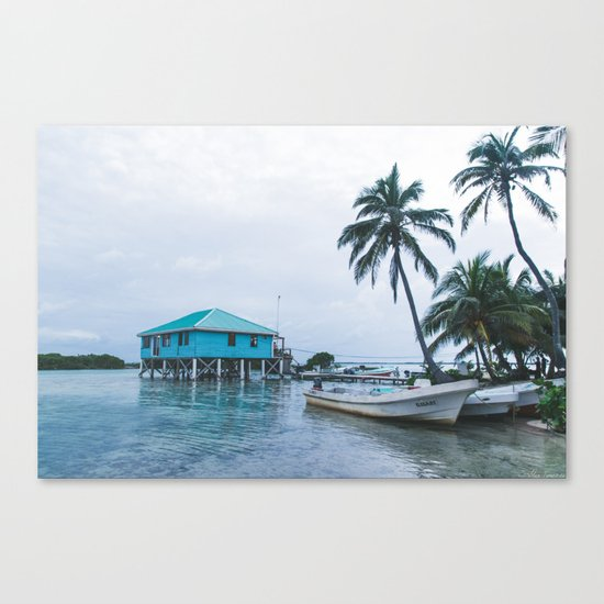 Island Retreat Canvas Print