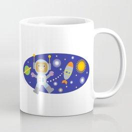 Space Chimp Astronaut Monkey Coffee Mug