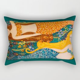 Mermaid Sisters Rectangular Pillow