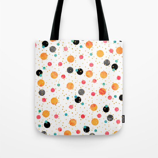 Peachy Party Tote Bag