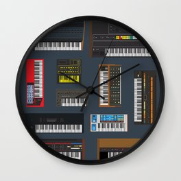 Synthetic Wall Clock