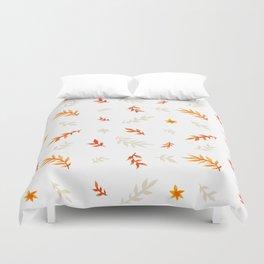Watercolor autumn Duvet Cover