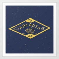 The Arcadia Club Art Print