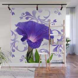 The Morning Glory Wall Mural