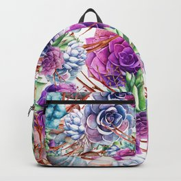 Simply Succulents Backpack