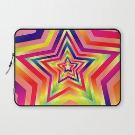 Star Colorful Rainbow Spectrums Laptop Sleeve