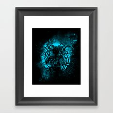 terror from the deep space Framed Art Print