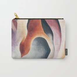 Poster-Georgia O'Keeffe-Leaf motive. Carry-All Pouch