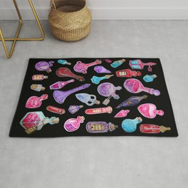 Witchcraft: Witches Potions Rug