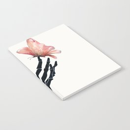 Butterfly on Skeleton Hand Notebook