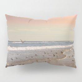 Pink Sandy Beaches Pillow Sham