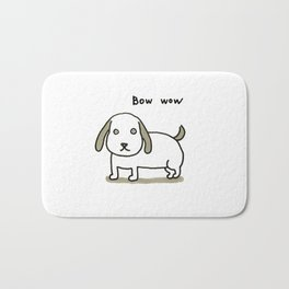 bow-wow Bath Mat
