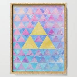 Zelda Geometry Serving Tray