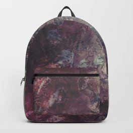 acrylic grunge Backpack