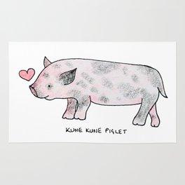 Kune Kune Pig Rug