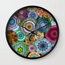 Flowery Meadow 3 Wall Clock