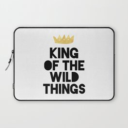 KING OF THE WILD THINGS Laptop Sleeve