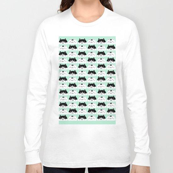 Kawaii Kitties Long Sleeve T-shirt