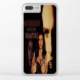 Vampires Interview Clear iPhone Case