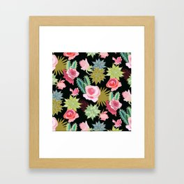 California Rose Garden Framed Art Print