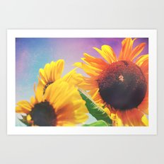 Summer Sunshine Day Art Print
