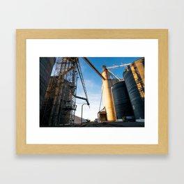Mills in Idaho Falls Framed Art Print