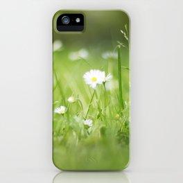 Flora calling iPhone Case