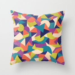 Trendy Abstract Geo Throw Pillow